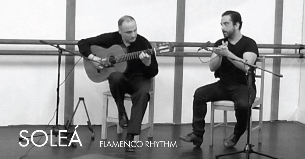Flamenco Rhythm {Soleá} | www.flamencobites.com