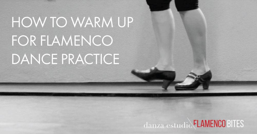 How to warm up for flamenco dance | www.flamencobites.com