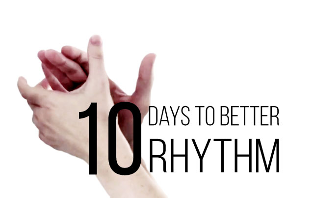 $47 - Improve your sense and connection to rhythm through movement with 10 days of exercises.