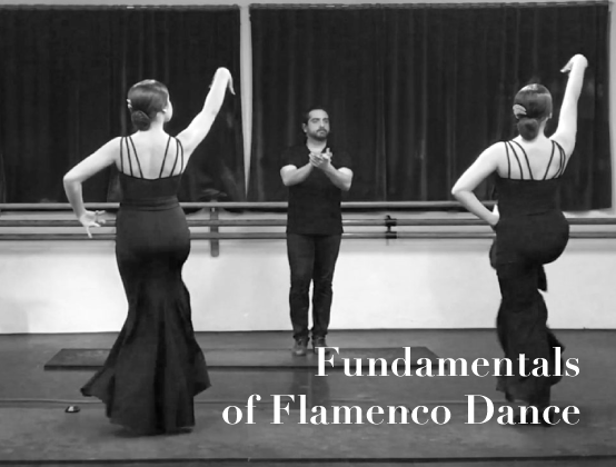 $297 - Study fundamental technique and learn an original choreography for Fandango de Huelva with an introduction to dancing with a singer and guitarist.