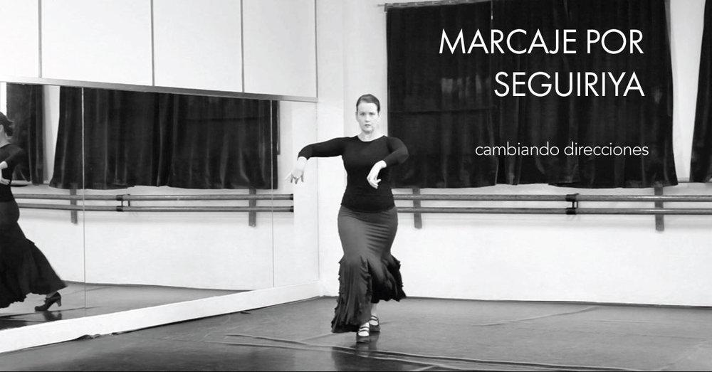 Marcaje por seguiriya - changing directions | www.flamencobites.com