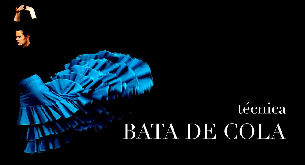 tecnica BATA DE COLA | courses.flamencobites.com