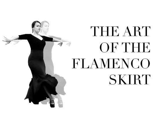 The Art of the Flamenco Skirt