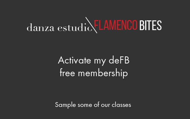 danza estudio Flamenco Bites