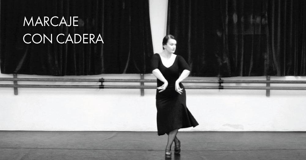Marcaje con cadera | www.flamencobites.com