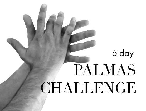*Members Only*  A different palmas pattern to learn each day for 5 days using 3 and 12 beat rhythmic cycles