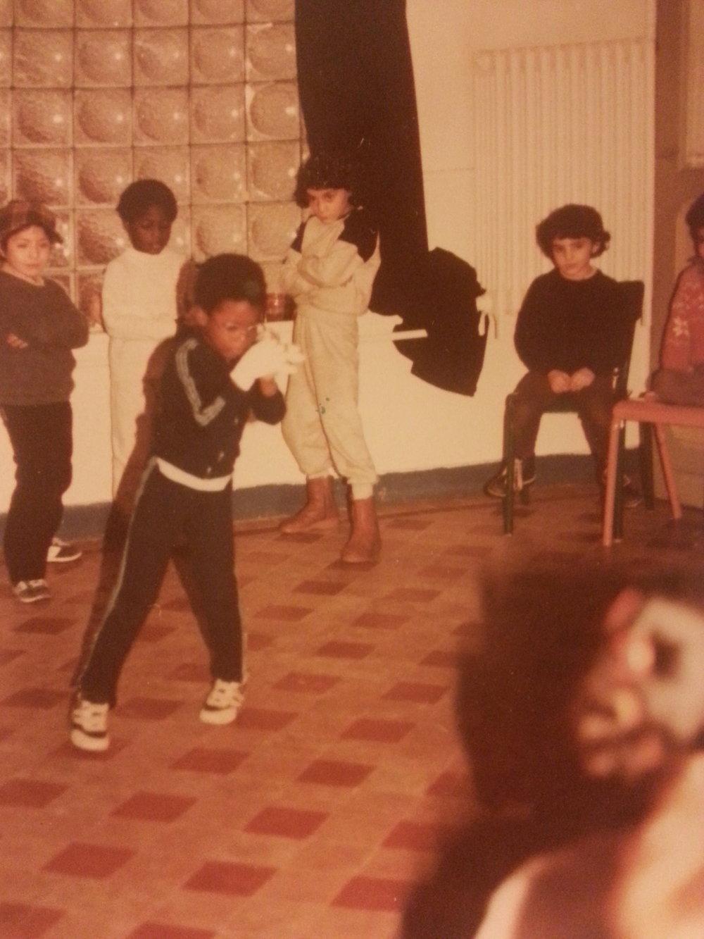 Babacar Cissé 1984 à 6 ans -