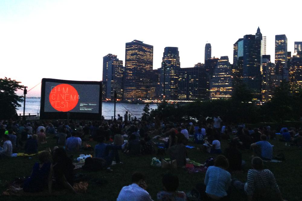 Screening at Brooklyn Bridge Park