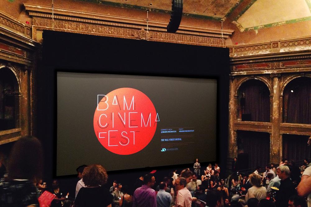 Screening at the BAM Harvey Theater
