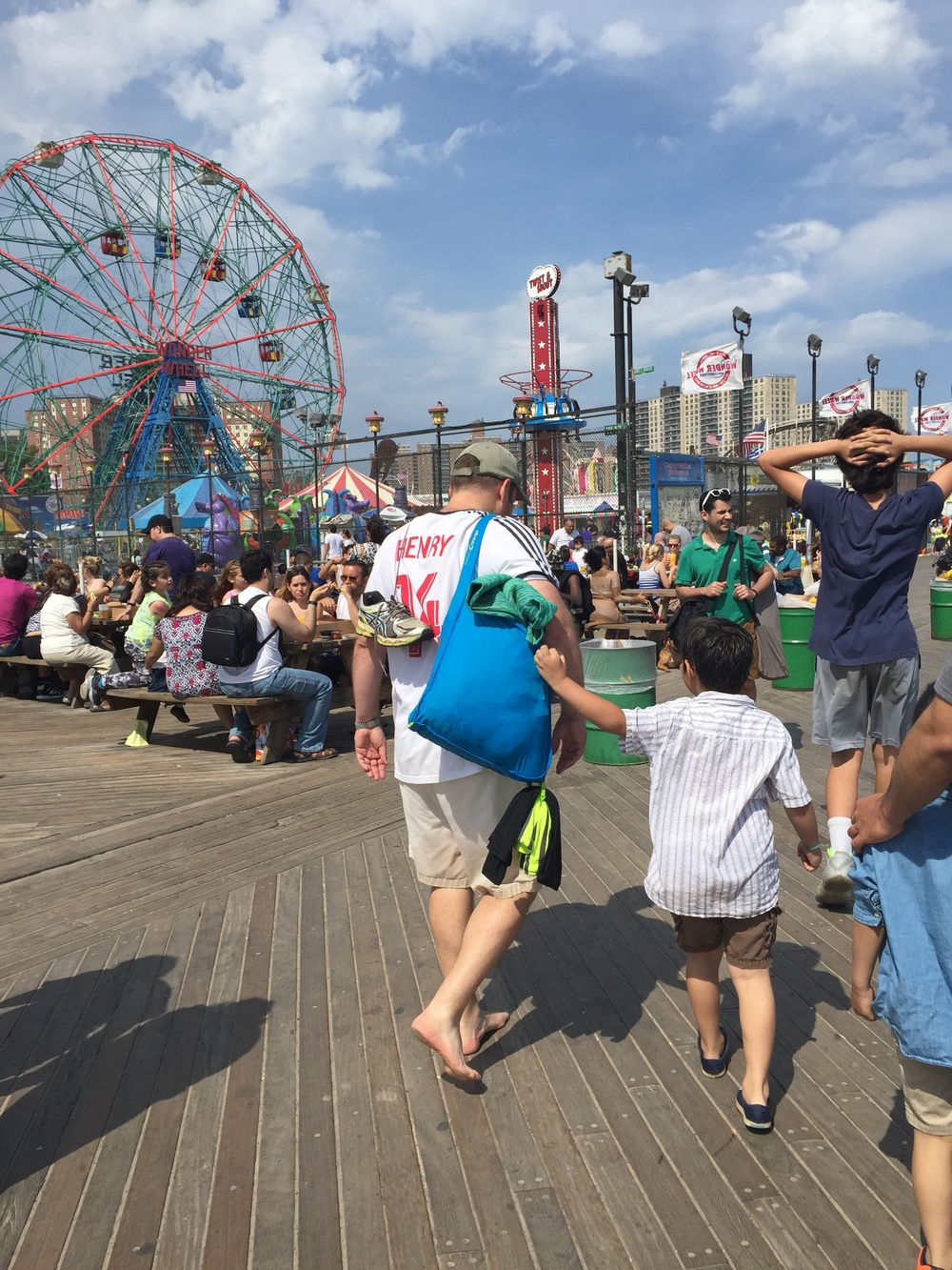 Coney Island Adventures: SureShop Hits the Beach! � Hatch Things