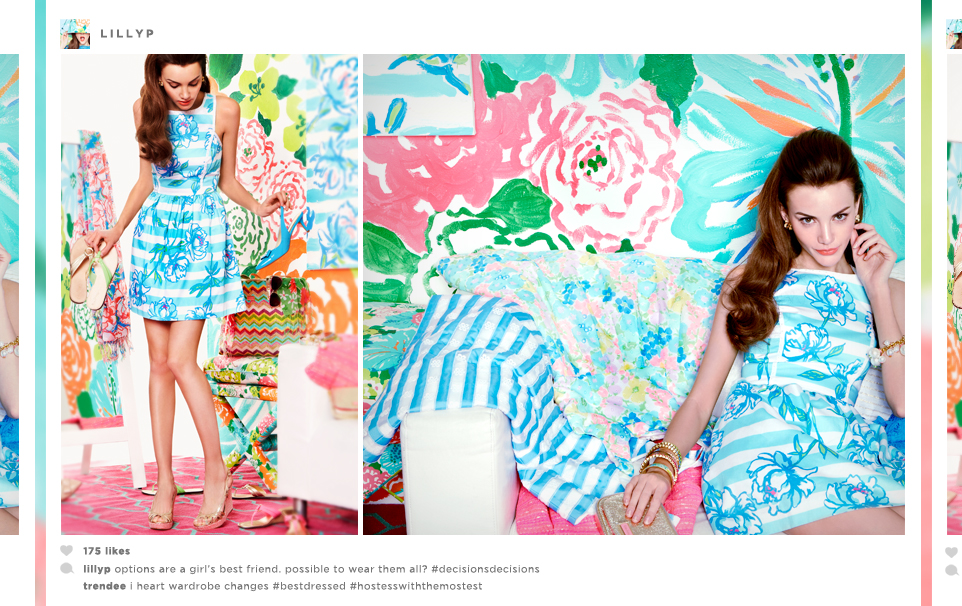 Bloomingdale's Lilly Pulitzer Spring 2013 Lookbook