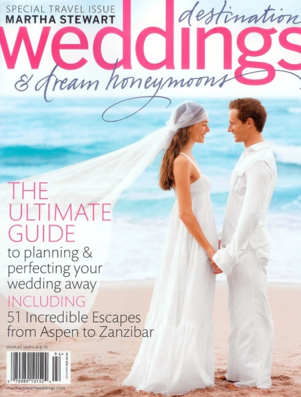 Martha Stewart Weddings Travel 2010 Issue