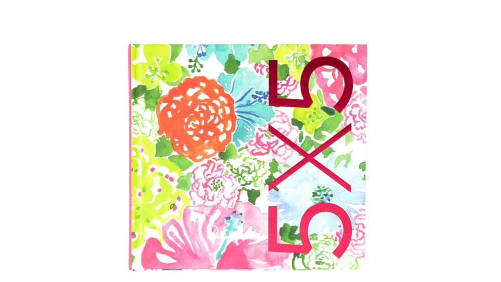 Lilly Pulitzer 5x5 Book