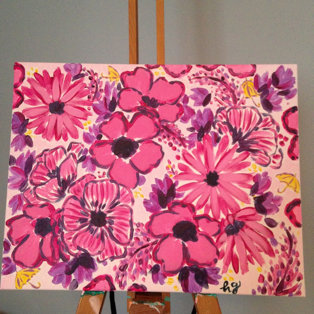 "Custom Canvas Pattern - 11""x14"""