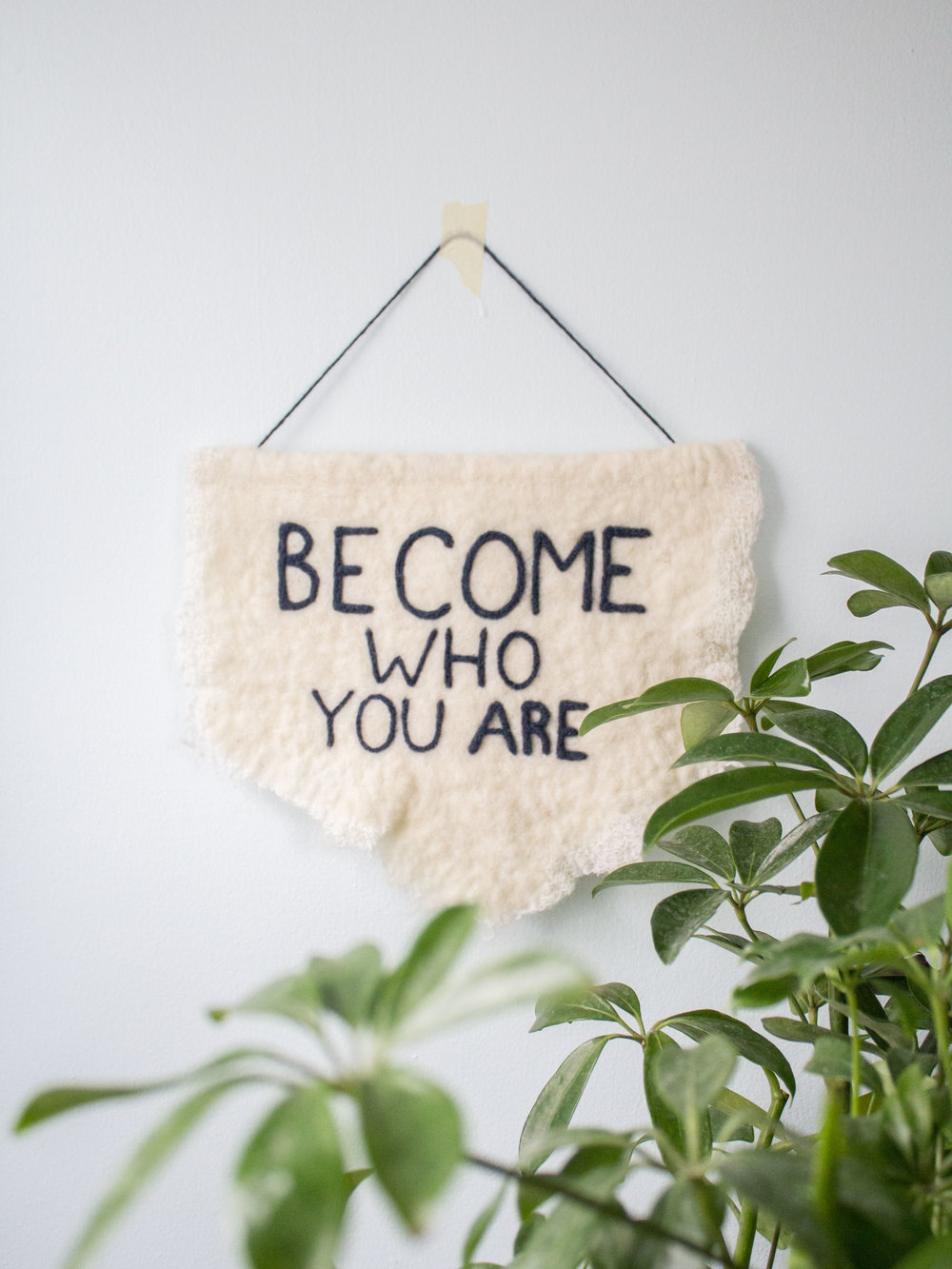 Become Who You Are Banner, 2016