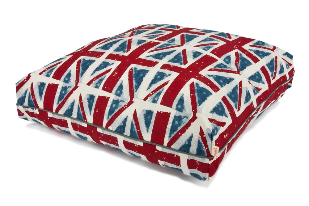 Peach Pillow Bed - Union Jack