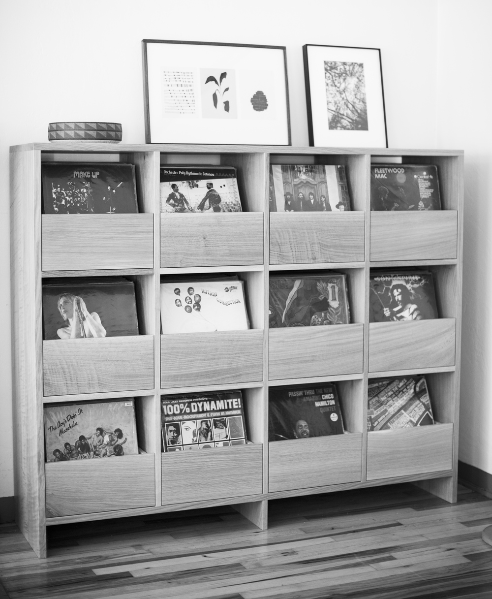 Killscrow Vinyl Cabinet B&W
