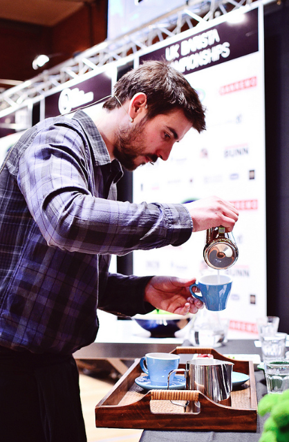 BBC: UK Barista Championships: Alex Sargeant 'one to watch'