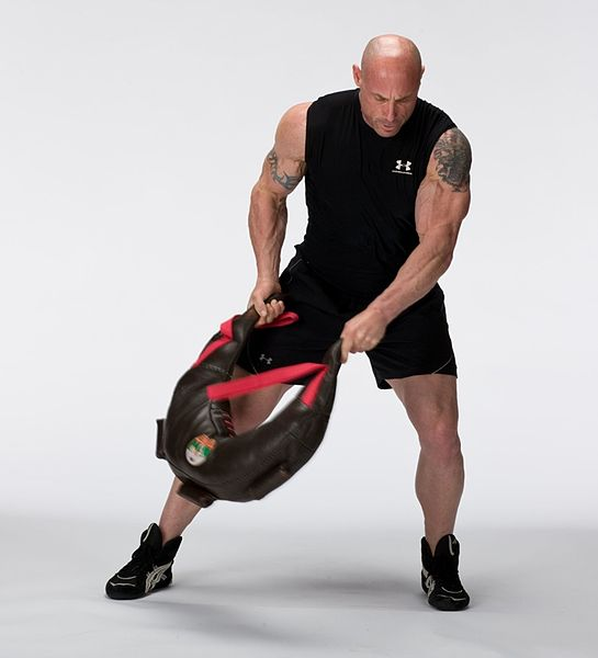 Bulgarian Bag Training