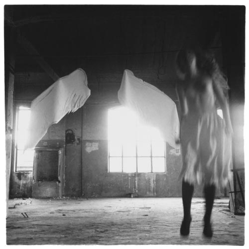 Francesca Woodman, Angel series