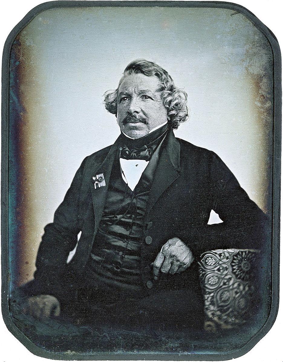 Louis Daguerre & the Daguerreotype