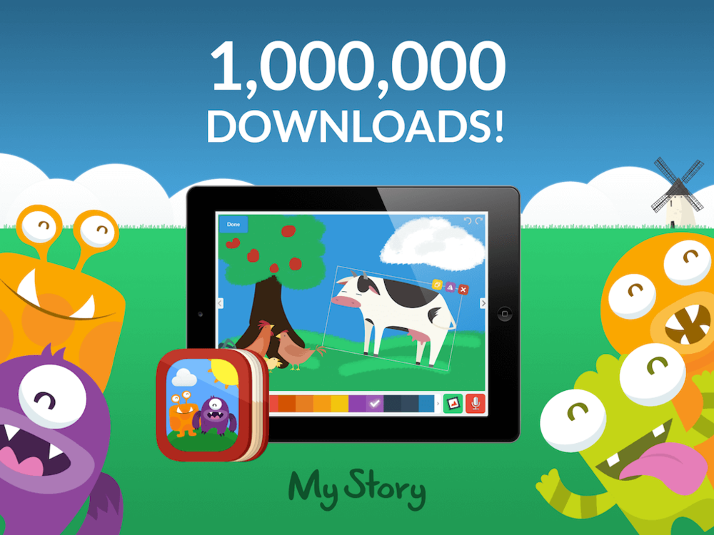 In 2015 My Story had its one millionth download.