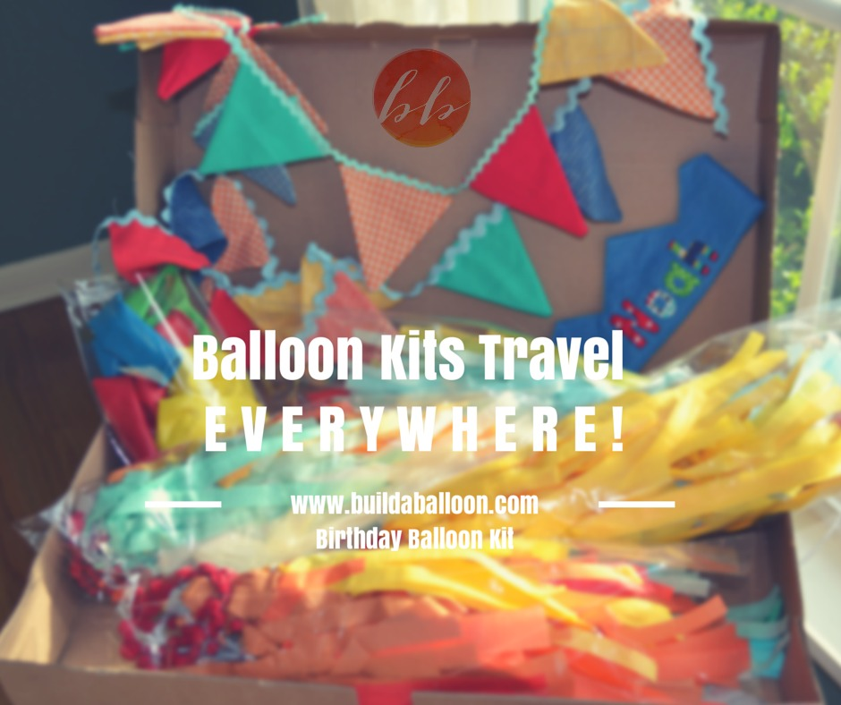 """We ship custom made balloon kits anywhere! Comes with 3 -36"""" ginormous balloons with matching 6 ft tassels, balloon cords, clips and weights PLUS 2 6ft matching fabric bunting in amazing colors! Sure to be a show stopper!!!!"""