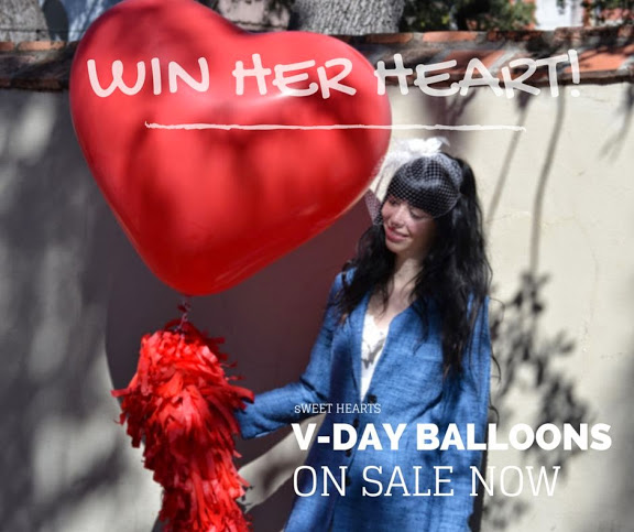 www.buildaballoon.com WIN HER HEART