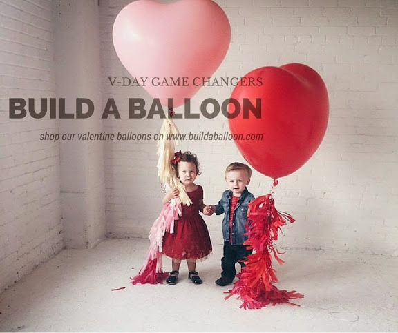 www.buildaballoon.com Valentine Balloons