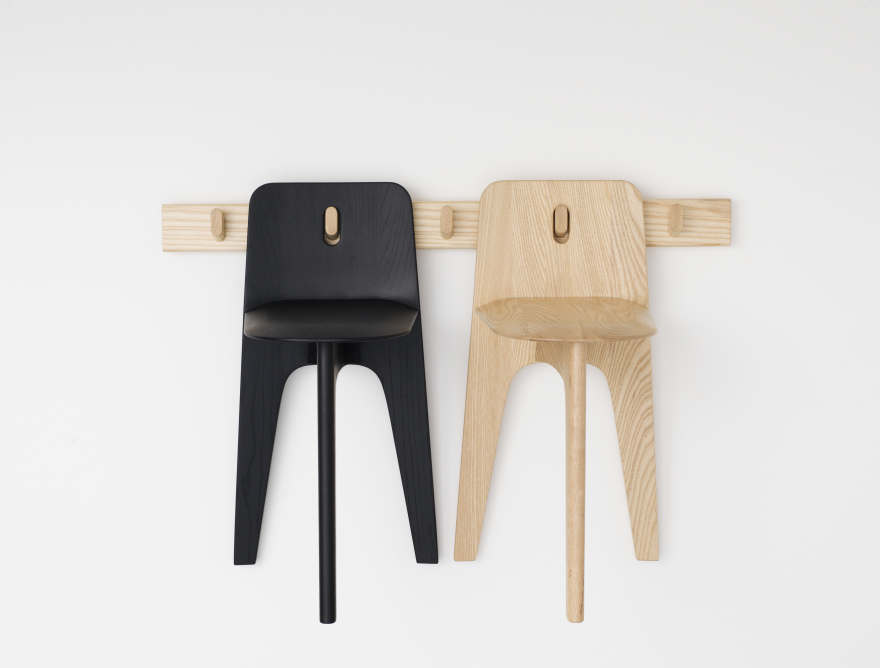 Gabriel Tan's three-legged chairs