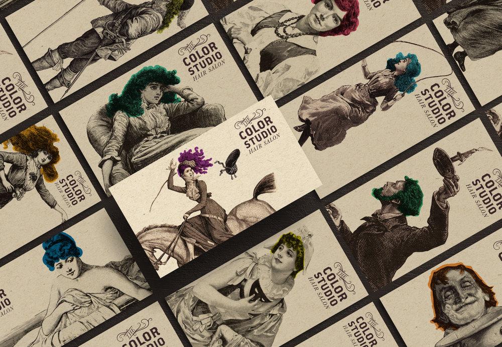 EyeSavvy Design | Design Studio | The Color Studio Brand Design, Brand Identity, Hair Salon Branding, Graphic Design, Logo Design #branding #buildyourbrand #brandidentity #branddesign #marketing #brandingtips #artisticbranding