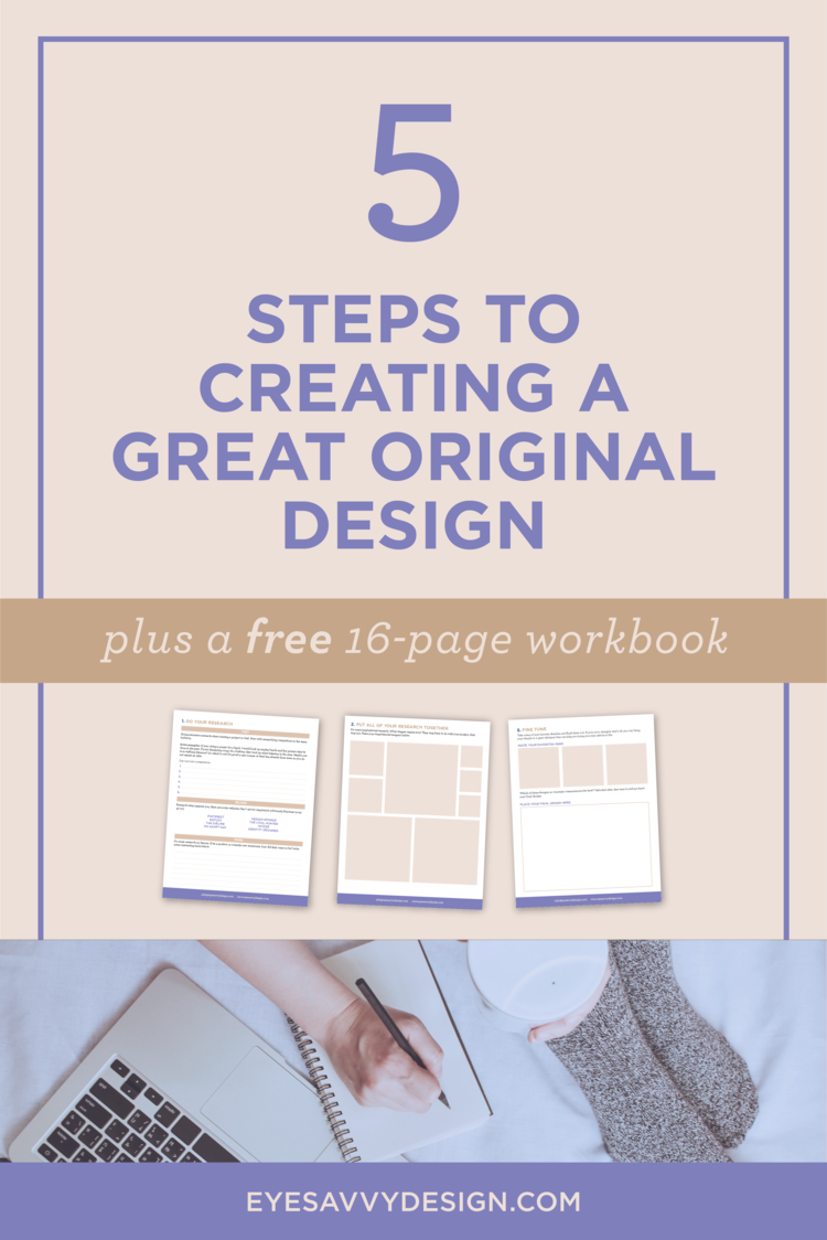 Workbooks the creative visualization workbook : 5 Steps to Creating a Great Original Design — Eye Savvy