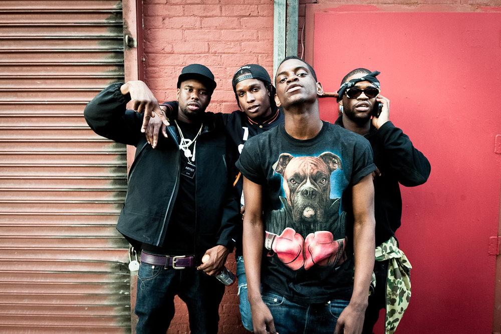 A$AP Rocky w/ A$AP Mob