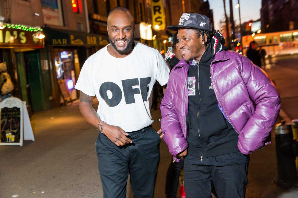 Virgil Abloh, Pusha T