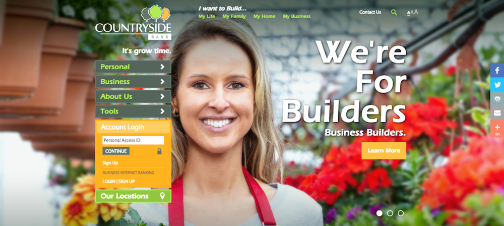 A dynamic new responsive website integrates a simple, clean and distinctive brand experience and messaging.