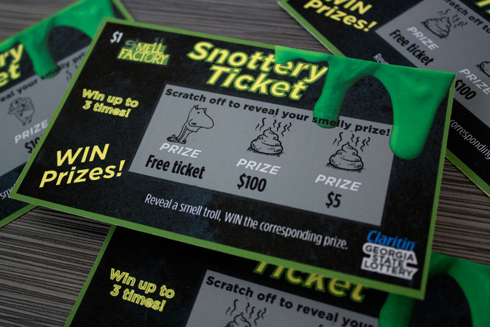 WIn new smells and other great prizes from Claritin with Snottery Tickets.