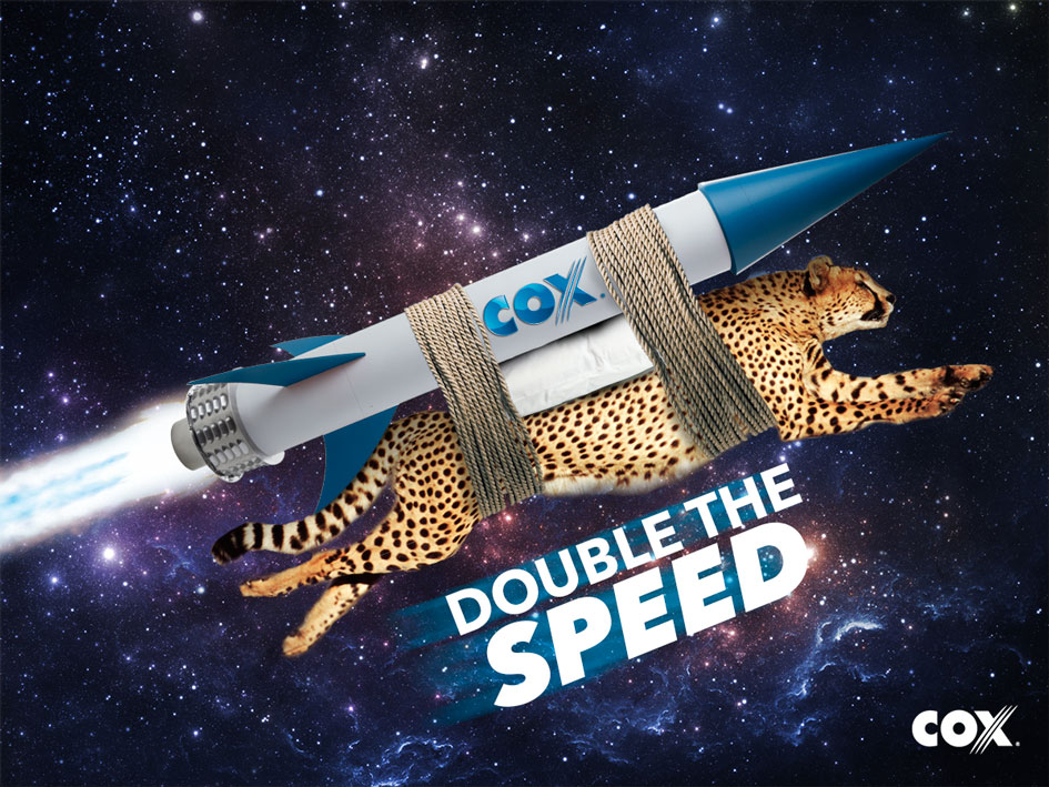 Corny Rocket powered Cheetah