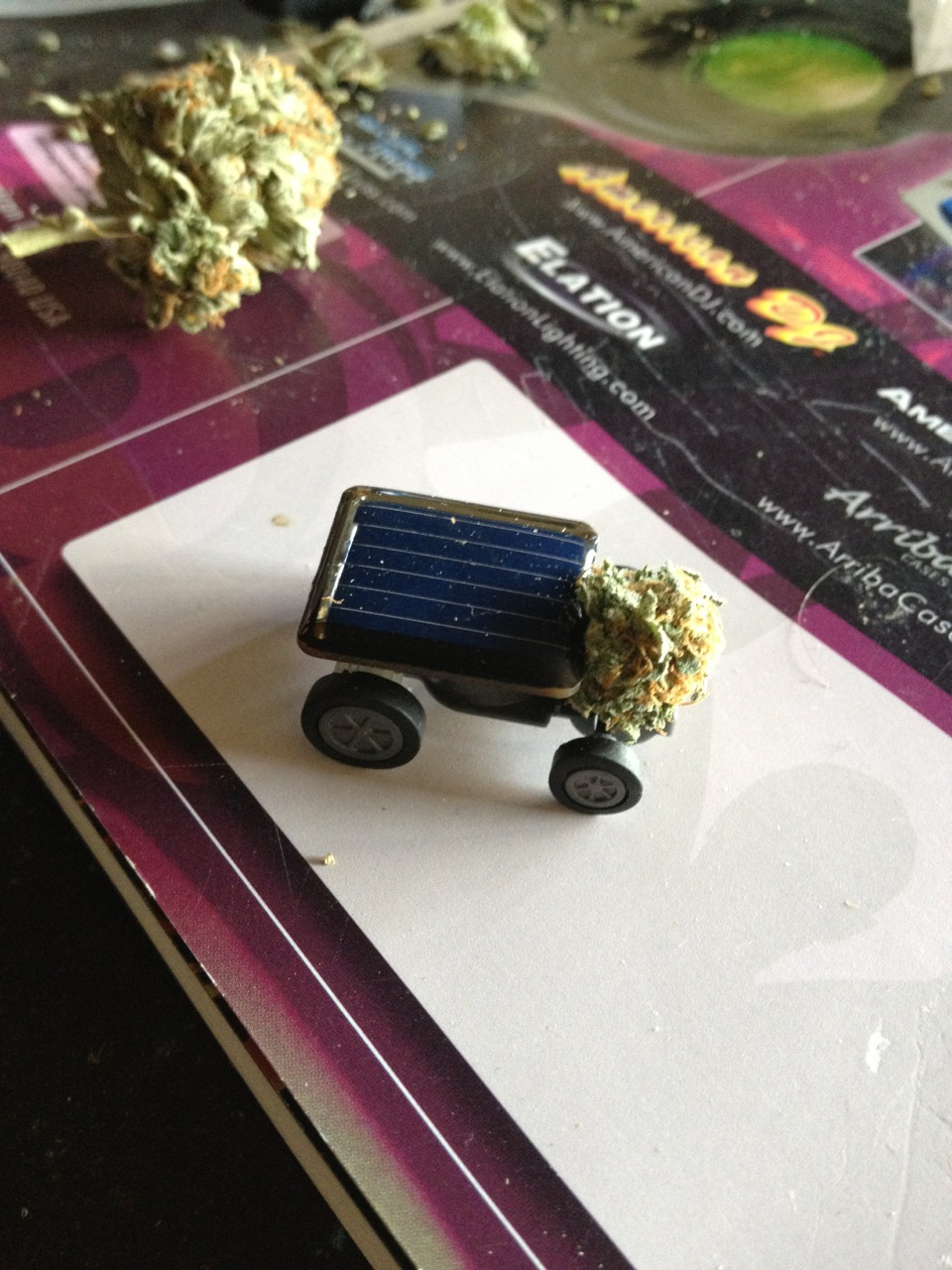 Solar Power Weed Delivery