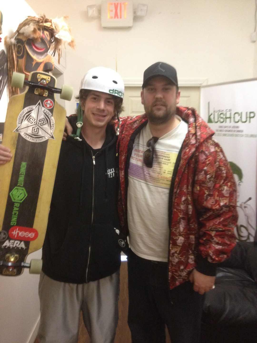2 time world champion worlds fastest down hill skateboard Kevin Reimer