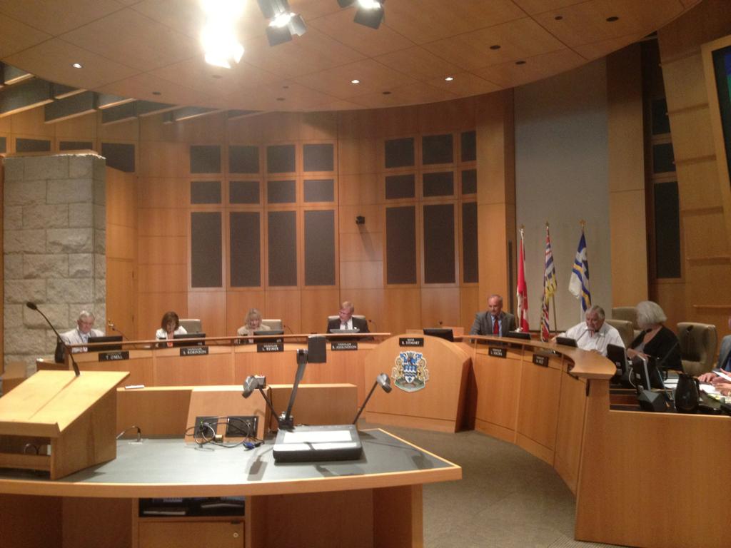 Coquitlam City Hall Meeting About Medical Marijuana.