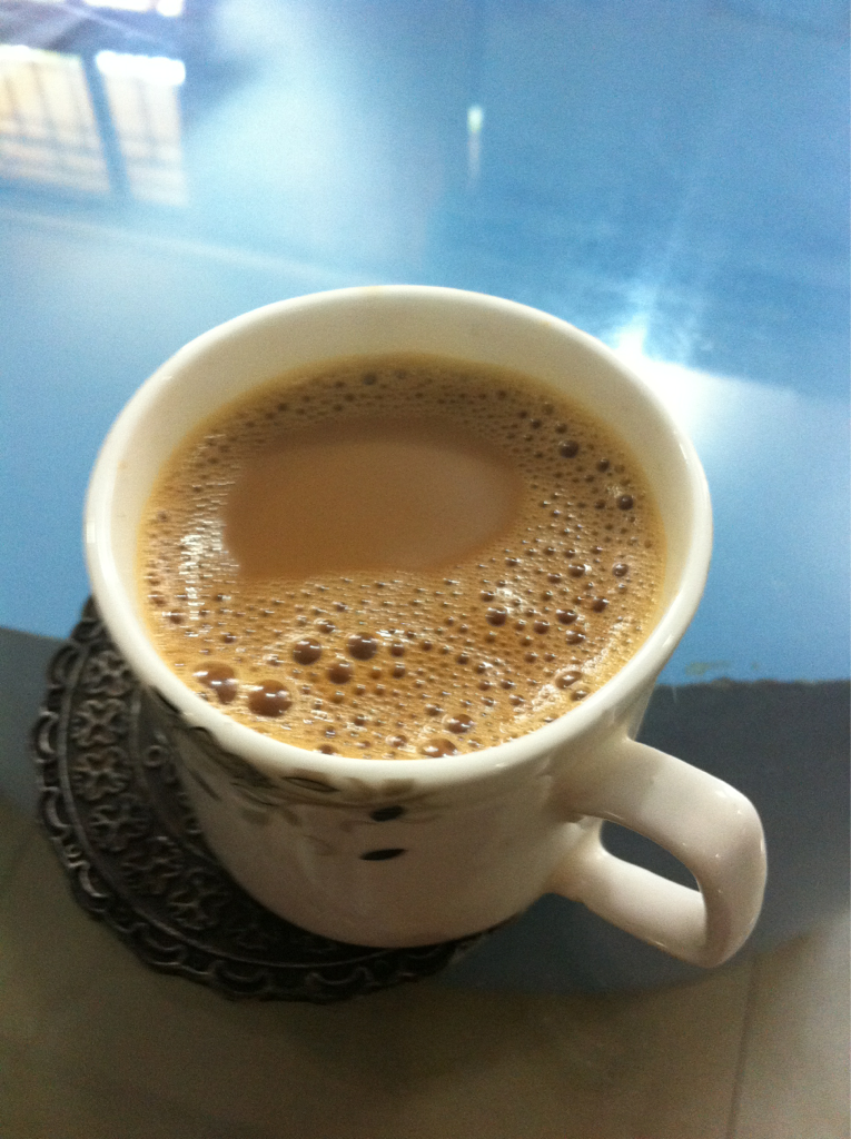 Chai love you. It's the best drink in India!!!