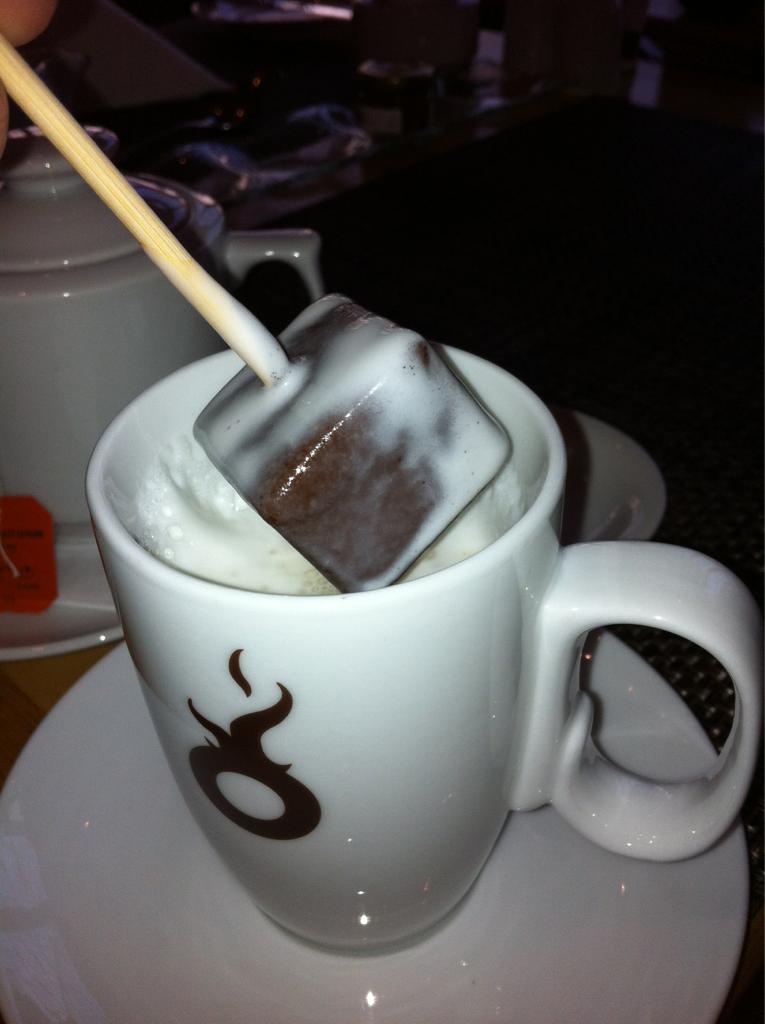 Hot chocolate Czech Style!!! Dip to your hearts desire…. Mmmmm