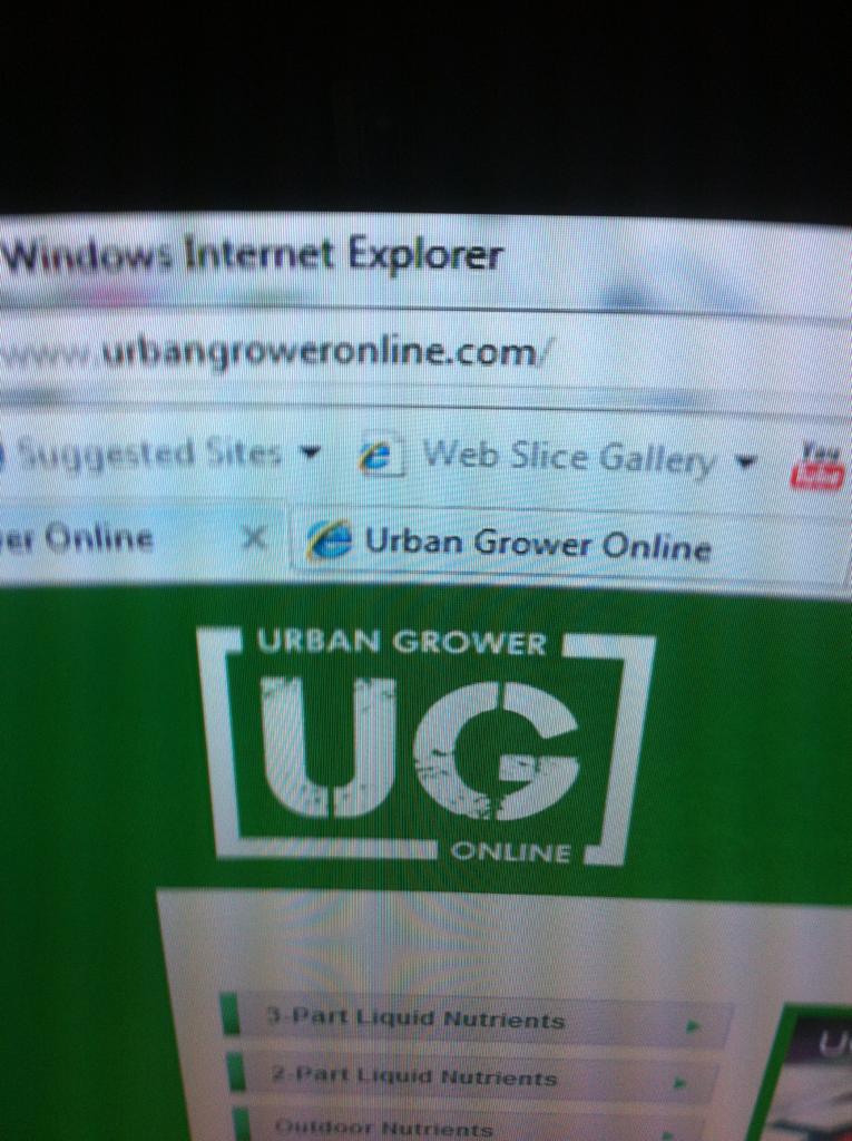 Www.urbangroweronline.com  live!!!!!