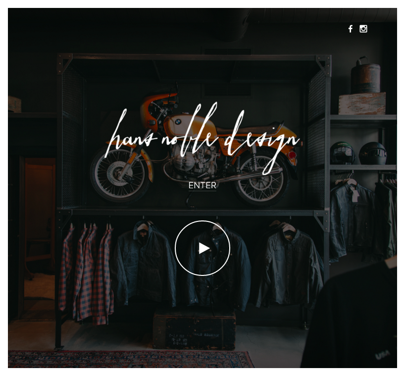 Hans Noble Design Site
