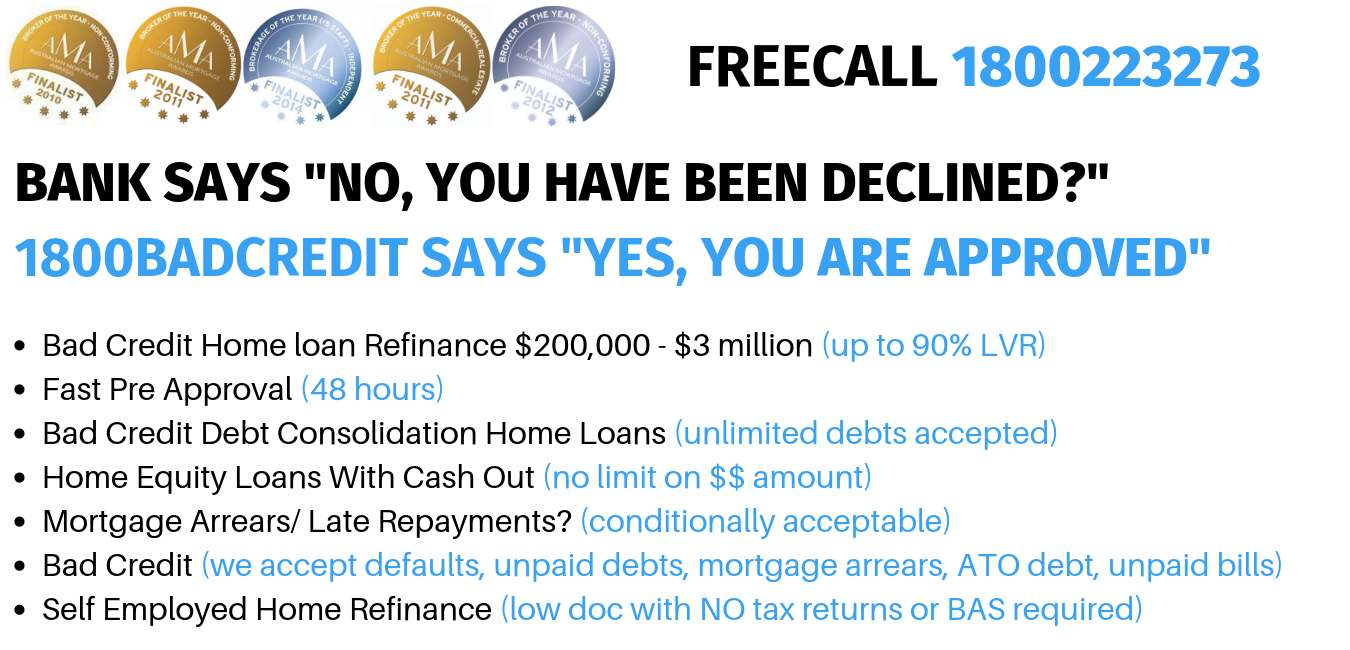 Your Bank Says NO? We Say YES! - Mortgage Refinance & Debt Consolidation Specialists