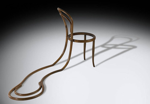 pablo reinoso: thonet chair sculptures          via  designboom.com