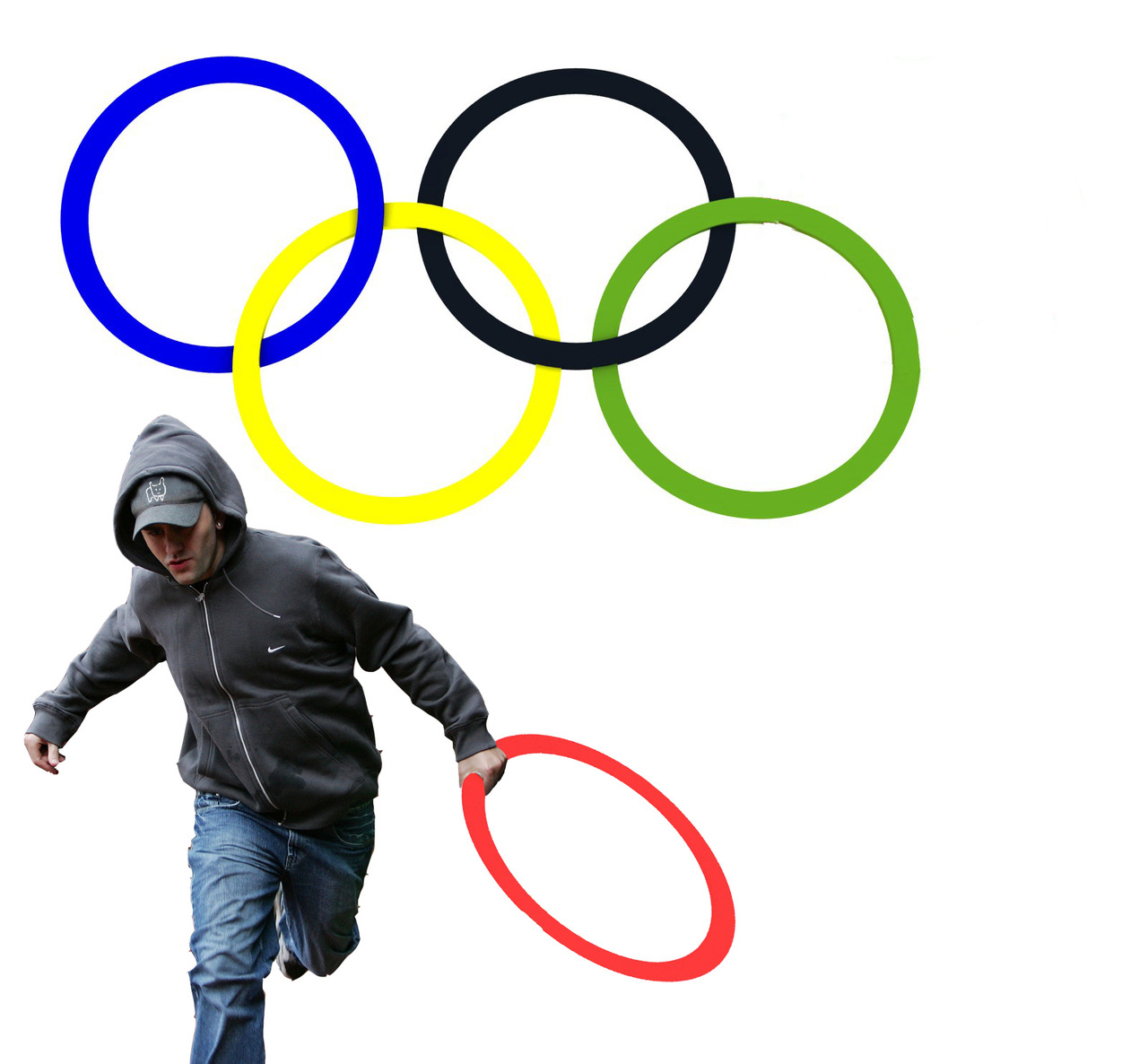 New Olympic Logo by Pure Evil Gallery