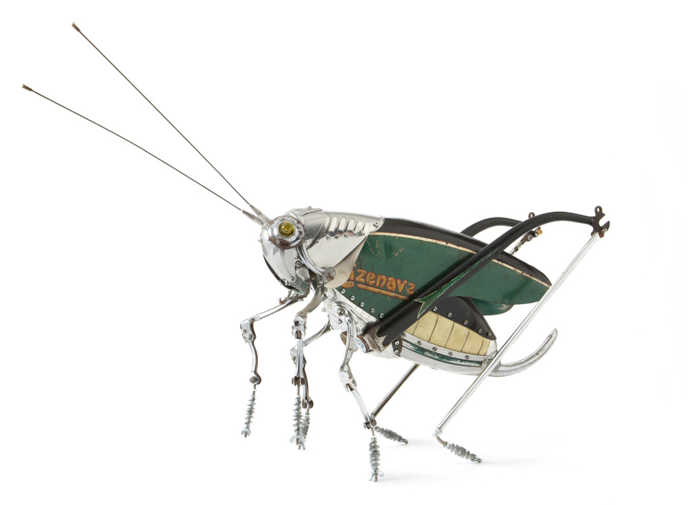 French sculptor Edouard Martinet            via  thisiscolossal.com        good mutant bugs