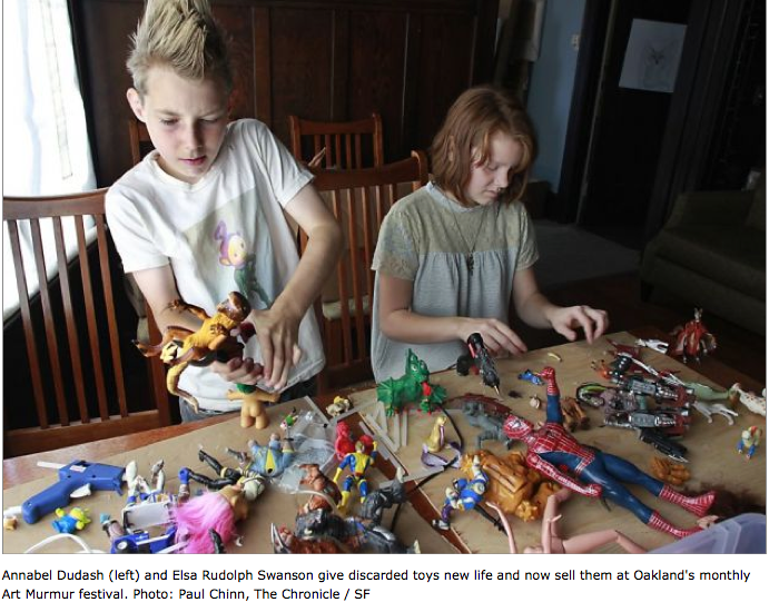 My Amazing Kid made the San Francisco Chronicle - Annabel the Mutant Maker!     http://www.sfgate.com/homeandgarden/article/Rover-picking-up-hacker-maker-cre…