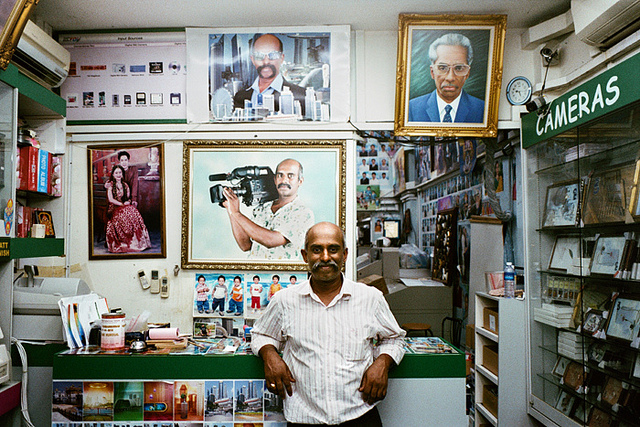 000055240005  on Flickr.  sajeev runs the best digital photo lab ever in little india, singapore.